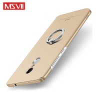 MSVII Ματ Backcover Θήκη (Xiaomi Redmi Note 4X) (Snapdragon) (Gold-Ring)