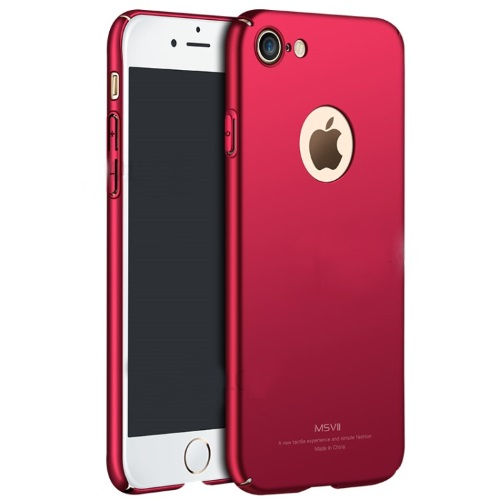 MSVII Ματ Backcover Θήκη για iPhone 7/8 (Κόκκινη)