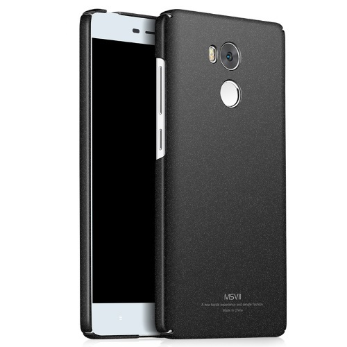MSVII Ματ Backcover Θήκη (Xiaomi Redmi 4 Prime/4 Pro/High Version) (Rock Black)