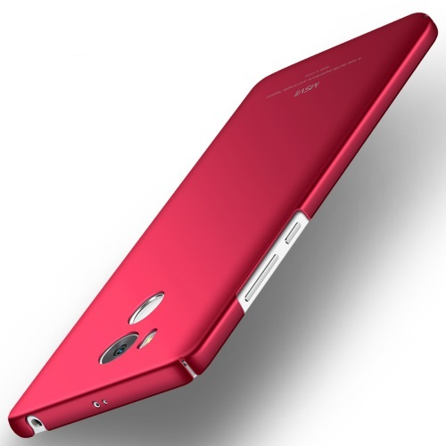 MSVII Ματ Backcover Θήκη (Xiaomi Redmi 4 Prime/4 Pro/High Version) (Κόκκινη)