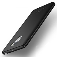 MSVII Ματ Backcover Θήκη (Xiaomi Redmi 4 Standard) (Μαύρη)