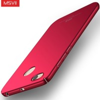 MSVII Ματ Backcover Θήκη (Xiaomi Redmi 4X) (Red)