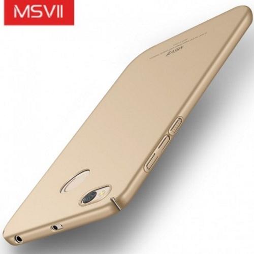 MSVII Ματ Backcover Θήκη (Xiaomi Redmi 4X) (Gold)