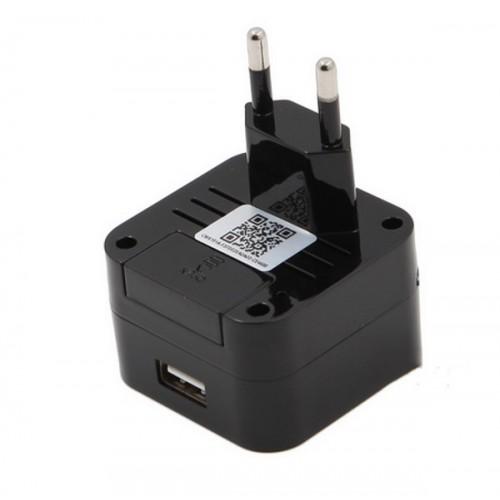 QZT Φορτιστής USB με Κρυφή Κάμερα 1080P με Wifi (EU)