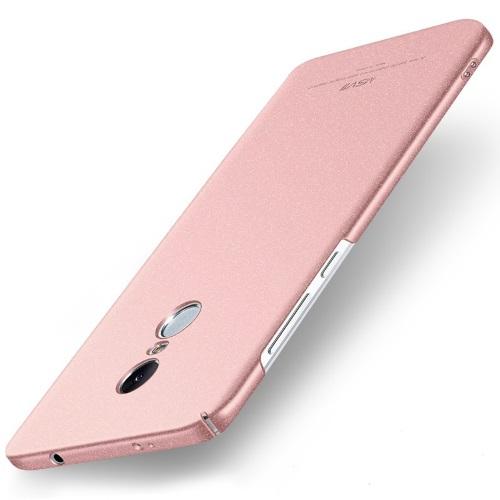 MSVII Ματ Backcover Θήκη (Xiaomi Redmi Note 4X) (Snapdragon) (Ροζ)