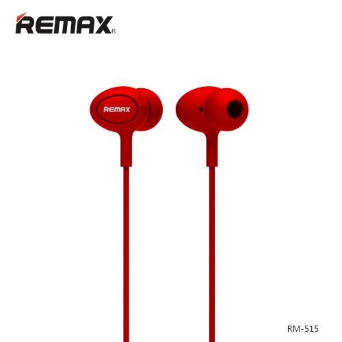 Ακουστικά Remax RM-515 Ακουστικά In-Ear HandsFree Headset(Red)