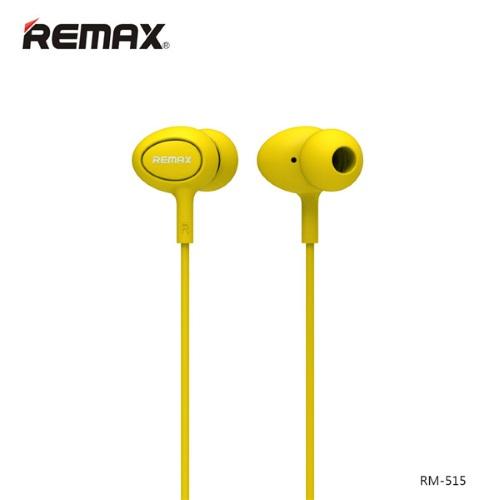 Ακουστικά Remax RM-515 Ακουστικά In-Ear HandsFree Headset(Yellow)