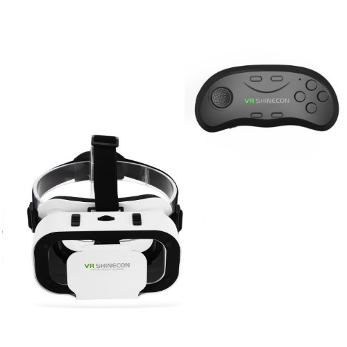 SHINECON VR Headset V5.0 SC-G05A & Bluetooth SC-B01