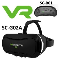 SHINECON VR Headset V2.0 SC-G02A & Bluetooth SC-B01