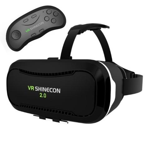 SHINECON VR Headset V2.0 SC-G02A & Bluetooth SC-B01