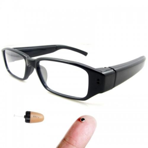 Smartcheater Γυαλιά Bluetooth Με Spy και Μικροσκοπικό Ακουστικό Ψείρα