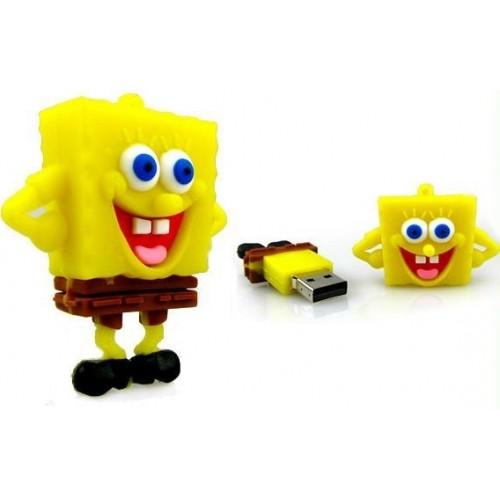 Wuwei Office Μπομπ Σφουγγαράκης USB Flash 16GB USB 3.0 (B07Y1JWYGG)