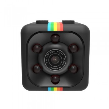 SQ11 Super Mini Car/Drone DVR Κάμερα Καταγραφικό FHD 1080P - Black
