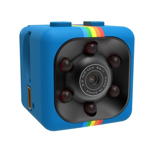 SQ11 Super Mini Car/Drone DVR Κάμερα Καταγραφικό FHD 1080P - Blue