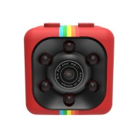 SQ11 Super Mini Car/Drone DVR Κάμερα Καταγραφικό FHD 1080P - Red