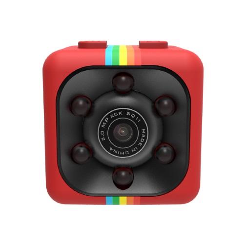 SQ11 Super Mini Car/Drone DVR Κάμερα Καταγραφικό FHD 1080P - Red