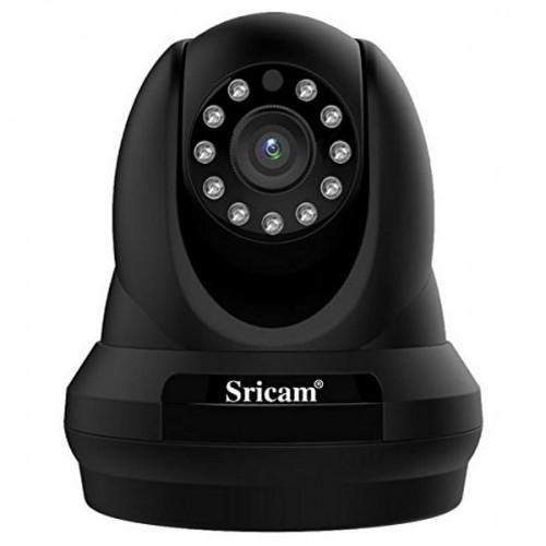 Sricam SP018 FHD Wifi/IP Camera (Ρομποτική/Νυχτερινή Λήψη/SD)(1080p) (Μαύρο)