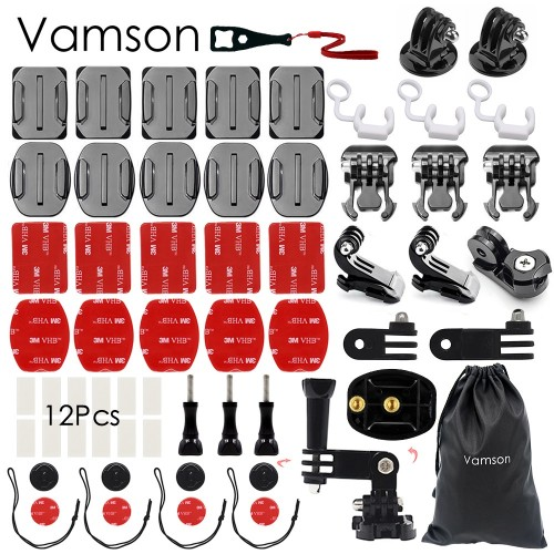 Vamson VS90A Kit 56 σε 1 Αξεσουάρ για Action Camera / GoPro