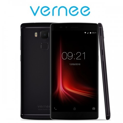 "Vernee Apollo Lite (5.5""/4G/10πύρηνο/3180 mAh) Μαύρο+ ακουστικά δώρο"