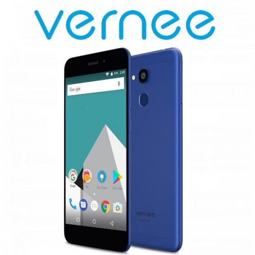 "Vernee Μ5 (5.2""/4G/8πύρηνο/4GB-64GB/3300mAh) Μπλε (+ Δώρο Ακουστικά)"