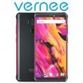 "Vernee V2 Pro (5.99""/4G/8πύρηνο/IP68 Rugged/6200mAh) Κόκκινο (+ Δώρο Ακουστικά)"