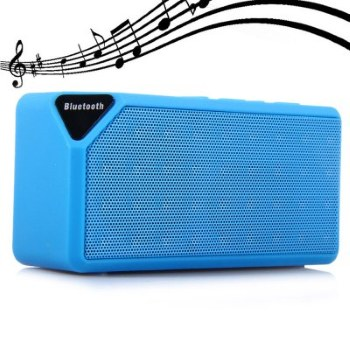 X3 Mini Ηχείο Bluetooth,Handsfree,FM Radio,TF/USB(OEM)(Γαλάζιο)