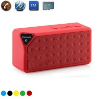 X3 Mini Ηχείο Bluetooth,Handsfree,FM Radio,TF/USB(OEM)(Κόκκινο)