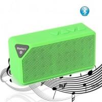 X3 Mini Ηχείο Bluetooth,Handsfree,FM Radio,TF/USB(OEM)(Πράσινο)