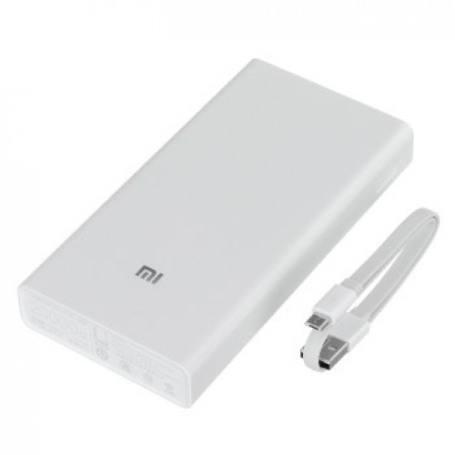 XiaoMi 20000mAh Power Bank για Smartphone με 2 USB θύρες
