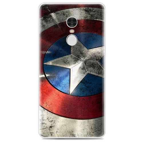 OEM Θήκη Σιλικόνης Backcover Captain America για Xiaomi Redmi Note 4 60a362fa665