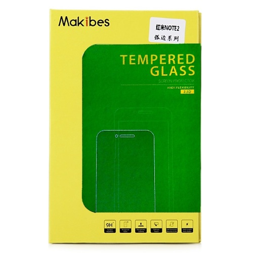 Makibes Tempered Glass 0.33 Προστασία Οθόνης XIAOMI Redmi Note 2