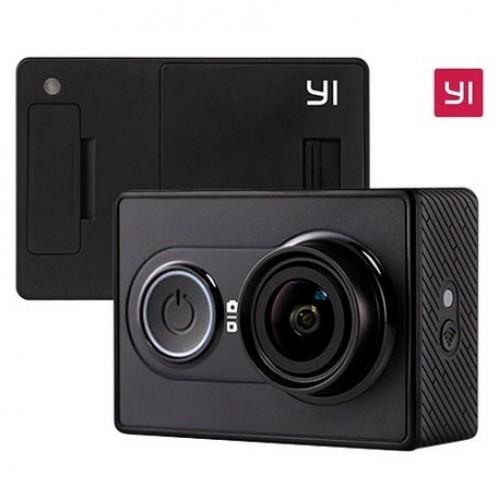 Yi EU Edition Ambarella A7LS 1080P 16MP WIFI Action Camera(Μαύρη)