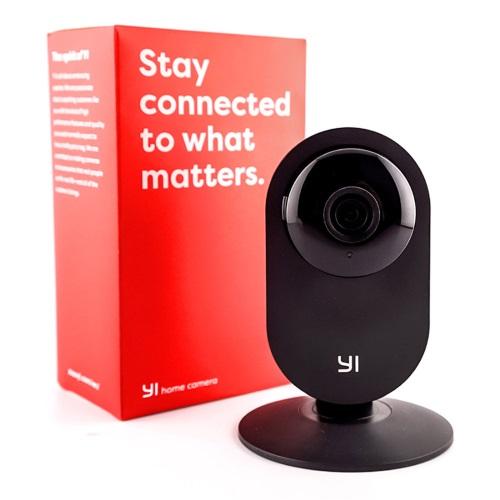 Yi Home Camera EU YHS-113-IR (HD/WiFi/IP/Νυχτ. Λήψη/Αν. Κίνησης/mSD) - Μαύρη
