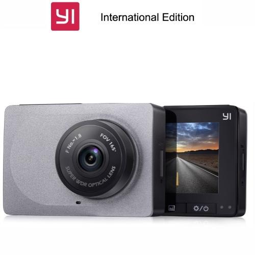 Yi Smart Dash Camera DVR Αυτοκινήτου (FHD/LCD/mSD) (Γκρι)