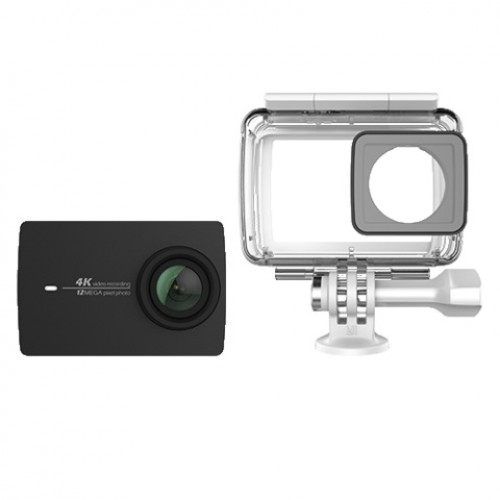 Yi Lite & Waterproof Case (16MP/4K/2'' LCD/60fps/mSD) - Μαύρη