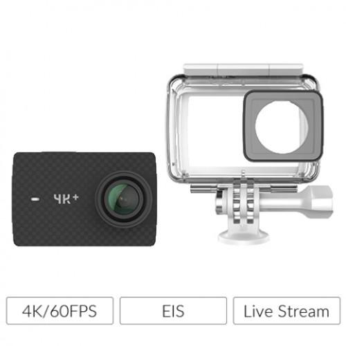 Yi 4K+ και Αδιάβροχη Θήκη - EU Edition - 4K 12MP WIFI Action Cam (Μαύρη)