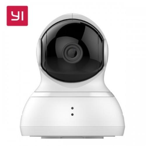 Yi Dome Home Camera EU 1080P YHS.2016 (HD/360°/WiFi/IP/Νυχτ. Λήψη/Αν. Κίνησης/mSD) - Λευκό