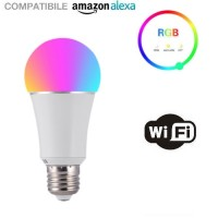 FCMILA 7W E27 RGB Smart Wifi Controlled Λάμπα LED