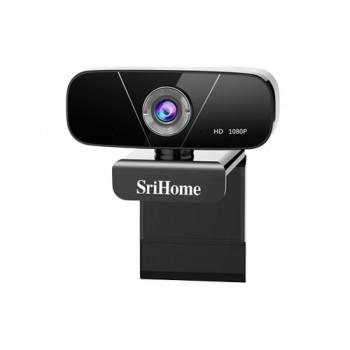 Srihome SH003 2.0MP 1080P Web Camera Κάμερα Υπολογιστή με Μικρόφωνο
