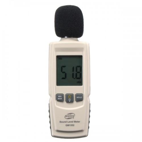 Benetech GM1352 Μετρητής Έντασης Ήχου (ντεσιμπελόμετρο) 30-130dB