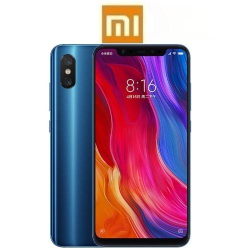 """XIAOMI Mi 8 Global (6.21""""/4G/8πύρηνο/6GB-64GB) Μπλε (Ακουστικά Δώρο)"""