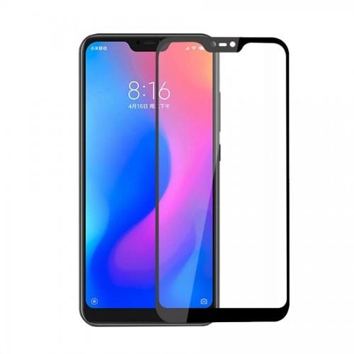 5D Tempered Glass 9H Προστασία Οθόνης Xiaomi Mi 8 Lite Μαύρο