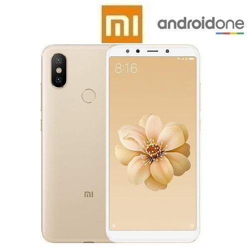 """XIAOMI Mi A2 Global (5.99""""/4G/8πύρηνο/4GB-64GB) Χρυσό (Ακουστικά Δώρο)"""