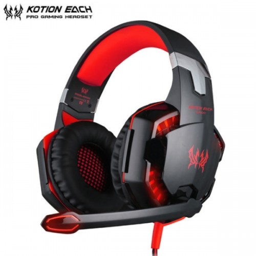 KOTION EACH G2000 USB Gaming Headset - Κόκκινο