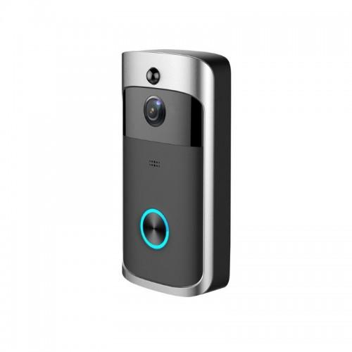 Ασύρματο WiFi Δικτυακό Κουδούνι Με IP Κάμερα Geniuspy M5 WIP