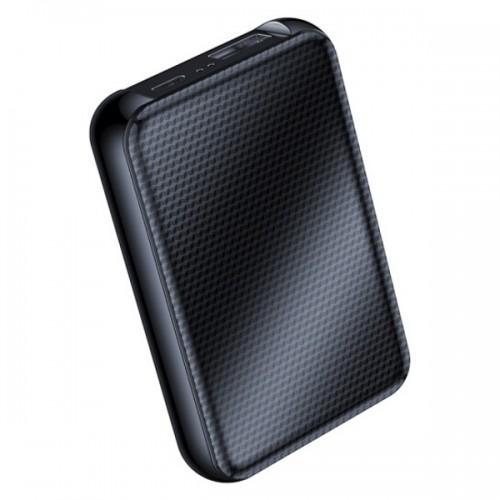 JNN Q75 Καταγραφικό Ήχου Μεγάλης Διάρκειας - 400 ώρες με ανίχνευση ήχου-  Power Bank (16GB)