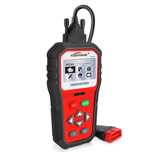 Konnwei KW818 Επαγγελματικό διαγνωστικό Αυτοκινήτου (OBD II/Auto Code Reader Scanner)