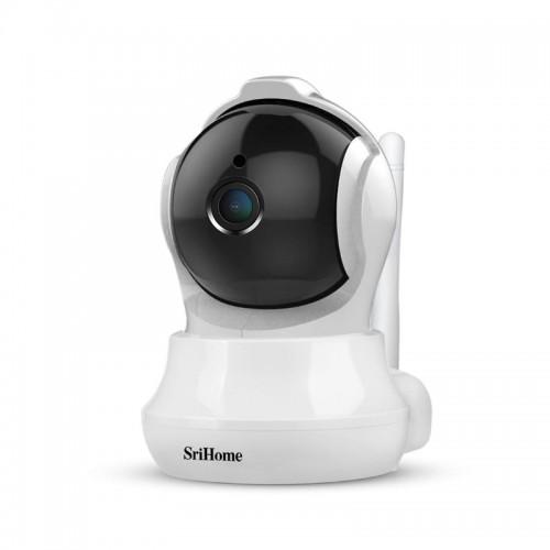 Sricam Srihome SH020 FHD Wifi/IP Camera (Ρομποτική/Νυχτερινή Λήψη/Αν. Κίνησης/SD)(1080p)