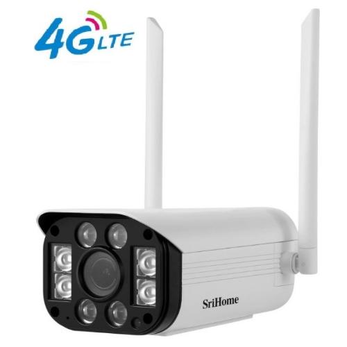 Sricam Srihome SH031-E 4G LTE+ IP Wi-Fi Κάμερα Full HD 1296P/Αδιάβροχη/3MP/Νυχτερινή Λήψη