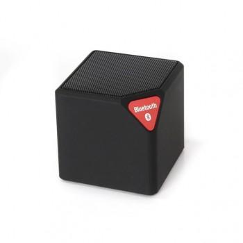 X3 Cube Mini Ηχείο Bluetooth,Handsfree,FM Radio,TF/USB(OEM)(Μαύρο)